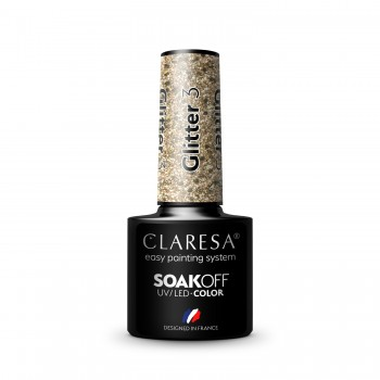 CLARESA GLITTER 3 5ml
